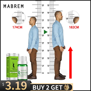 MABREM Herbal Essential Oil Conditioning Body Grow Taller Increase Height Soothing Foot Health Promote Bone Growth Massage Oil