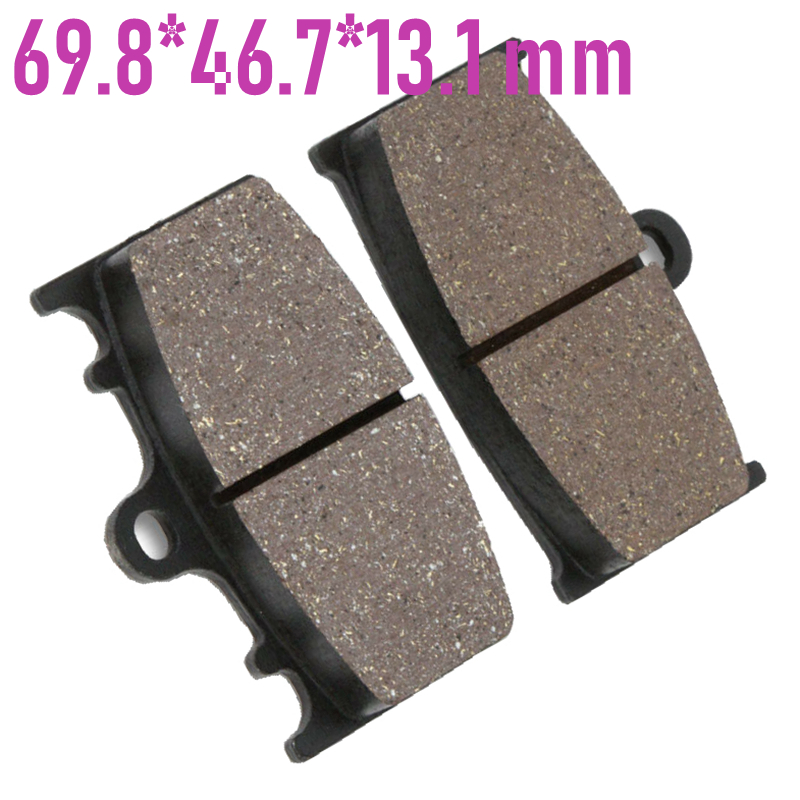 Motorcycle Rear Brake Pad for <font><b>Suzuki</b></font> <font><b>Intruder</b></font> C1500 05-09 <font><b>VL1500</b></font> 02-03 image
