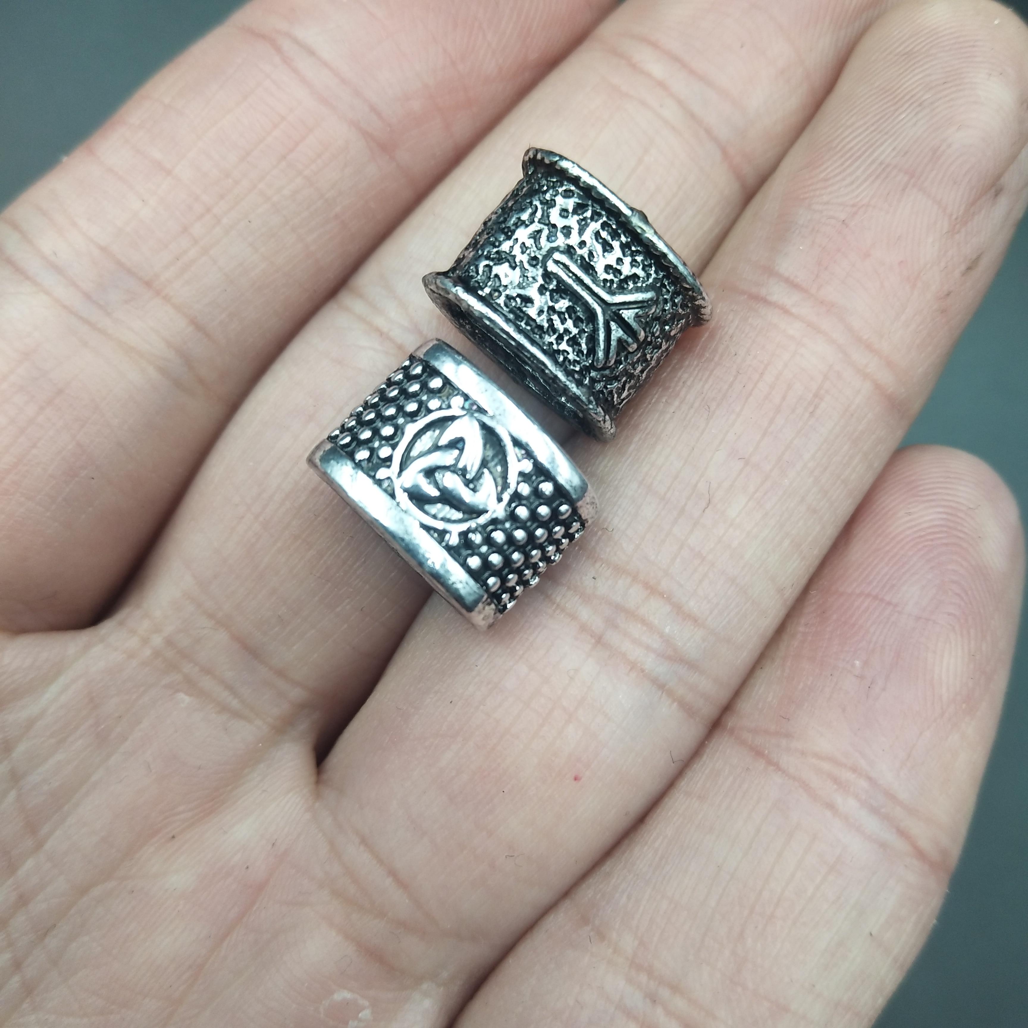 Viking Runes Beads 8
