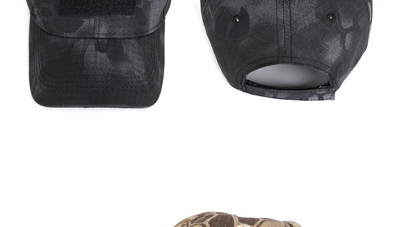 17 Colors Camo Men's gorras Baseball Cap Male Bone Masculino Dad Hat Trucker New Tactical Men's Cap Camouflage Snapback Hat 2020 17