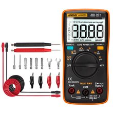 AN8009 True-RMS Auto Range Digital Multimeter NCV Ohmmeter AC/DC Voltage Ammeter Current Meter