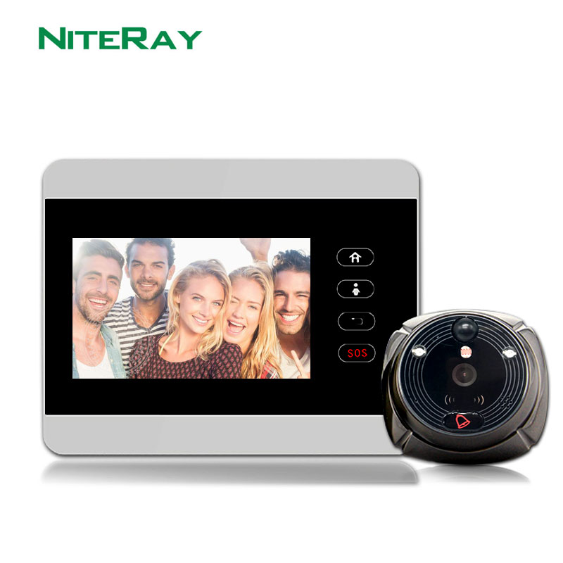WiFi Smart Video Doorphone 2.0MP HD 1080P Camera Wireless Video Intercom System IOS Android APP Mobile Doorbell IHOME5