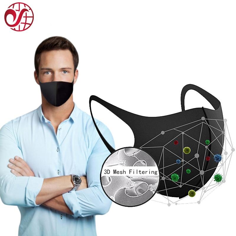 New 3D Mesh Filtering Face Mask Dust Mouth Mask Anti Haze Dust Washable Reusable Women Men Child Dustproof Mouth Masks