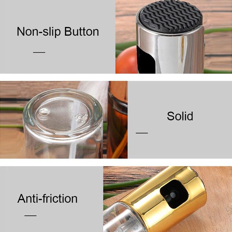 Refillable Olive Oil Sprayer Vinegar Mist Gravy Boats Grill BBQ Sprayer Cooking Seasoning Bottle Kitchen Tools Accessories