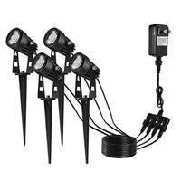 Convenient 1* Waterproof Model Walkway Light Gardon Lamp 3w 2800K 3200K Optional Plug Type EU/US/UK Accessories