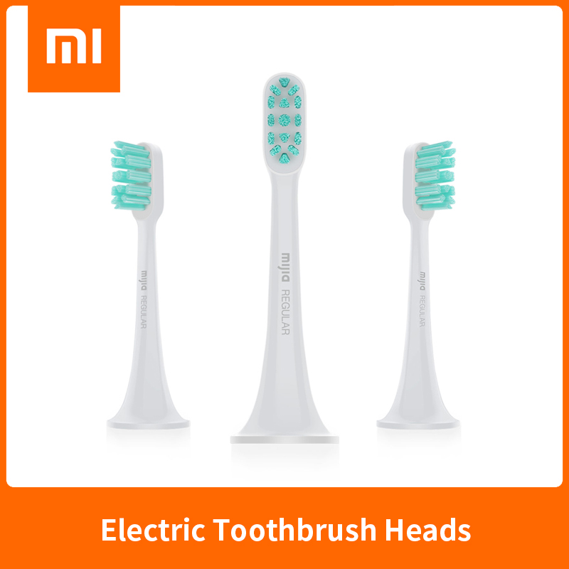 Original XIAOMI MIJIA Sonic Electric Toothbrush Heads 3PCS Smart Toothbrush DuPont brush head Mini Mi Clean Sonic Oral Hygiene image