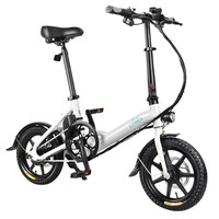FIIDO D3 Dobrável Ebike Bicicleta Elétrica Bicicleta Elétrica Scooter Ciclismo 250W 5.2Ah 36V E Bicicleta Elétrica Da Bateria Li Ion bicicleta|Bicicleta elétrica| |  -