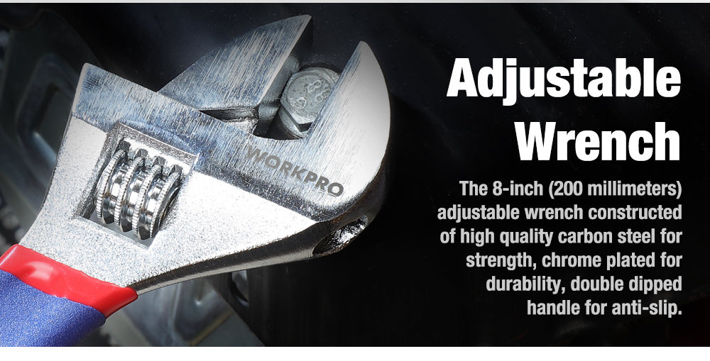 WORKPRO adjustable Wrench