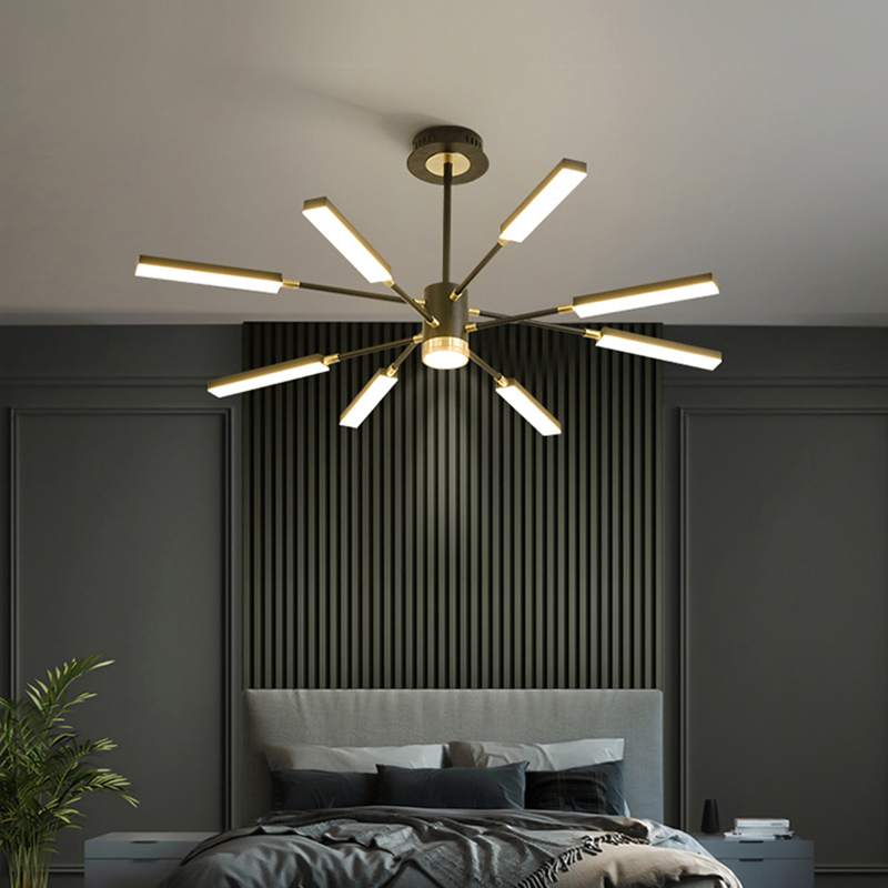 Modern LED Chandelier Lighting For Living Room Luxury Personality Creative Bedroom Chandelier Post Modern Designer Lamp