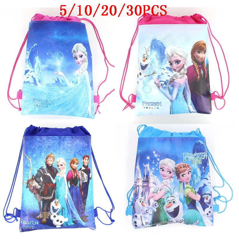 Disney Frozen Elsa Anna Backpack Bookbag School Supplies Girls Birthday