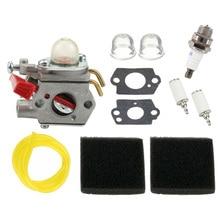 Carburetor Kit For Homelite B25C BC2500R D725CD D825SB F2020 F3040 F3050 Carburetor Air Filters Fuel Filters