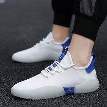 Summer men shoes Sneakers men breathable Running shoes Jogging Walking Sports Shoes 2020 New mens sneakers flat casual shoes men fashion flyknitting summer men sports shoes colorful letter decor running jogging shoes breathable mesh upper sneakers