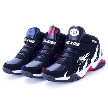 Dziecięce trampki chłopięce buty do badmintona biegające na co dzień dziecięce buty chłopięce sportowe buty do gry w koszykówkę Chaussure Enfant 2020 Spring tanie i dobre opinie aybycy Unisex Buty do koszykówki CN (pochodzenie) wszystkie pory roku RUBBER