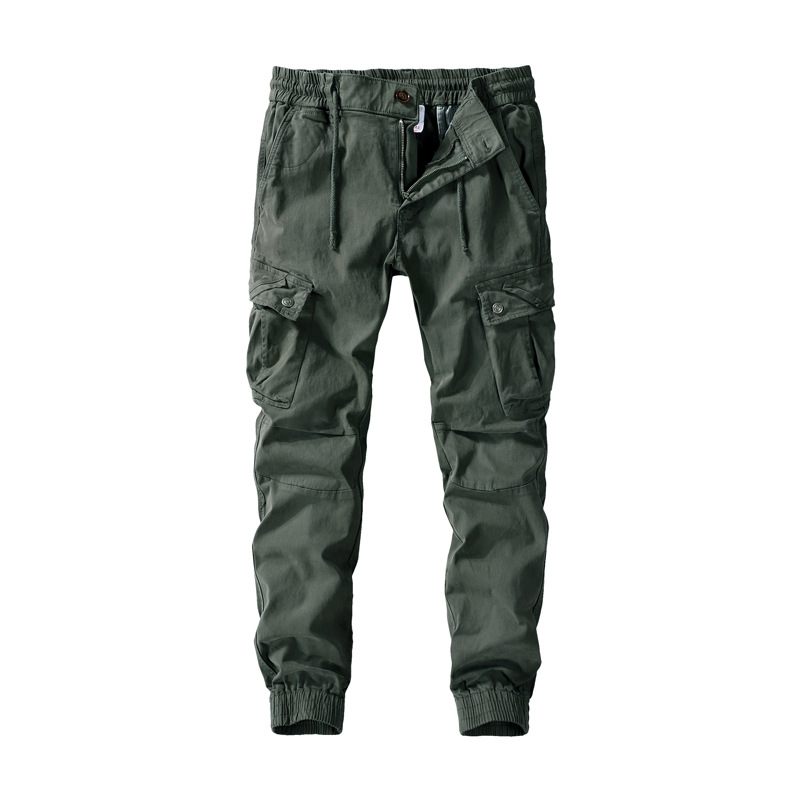 New Style Casual Pants Pure Cotton Bib Overall Popular Brand Men's Trousers MEN'S Sweat Pants Fashion Trousers