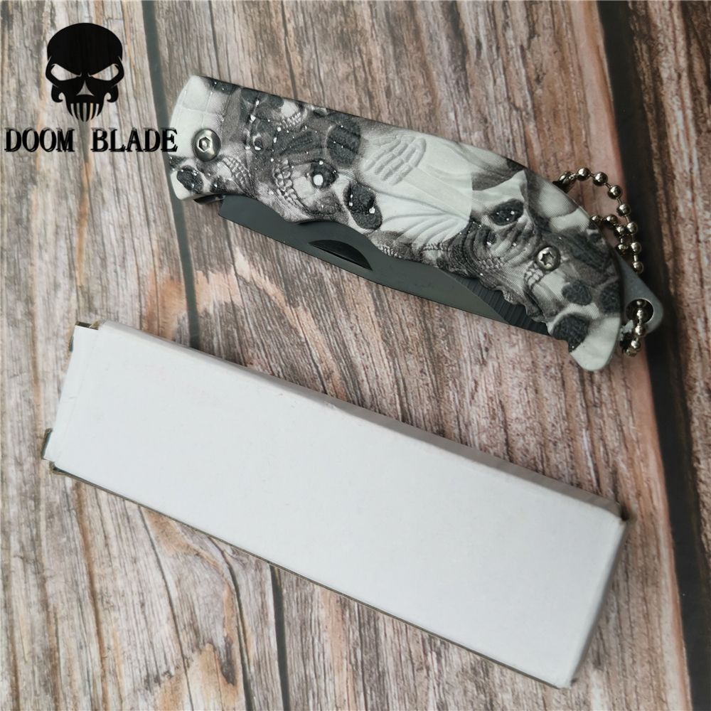 Image 5 - 160mm 5CR15MOV Blade Knives Outdoor Keyring Ring Keychain Fold Open Opener Pocket Package Survive Gadget Multi Tool Box Kit-in Knives from Tools