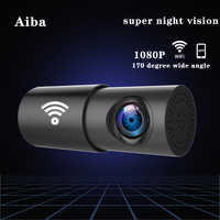 Original Aiba A10 Auto DVR APP 1080 P HD Nachtsicht Dash Cam Wifi Auto Kamera Recorder 170 grad weitwinkel G-sensor dash cam
