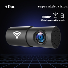 Original Aiba A10 Car DVR APP 1080P HD Night Vision Dash Cam Wifi Car Camera Recorder 170 degree wide angle G-Sensor dash cam sinairy car dash cam with wifi car dvr camera app support ios android system recorder 170 degree super wide angle loop recording