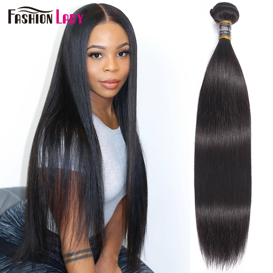 Fashion Lady Pre-colored Peruvian Straight Bundles Hair Extensions Human Hair Bundles 1 Piece Per Pack Non-Remy