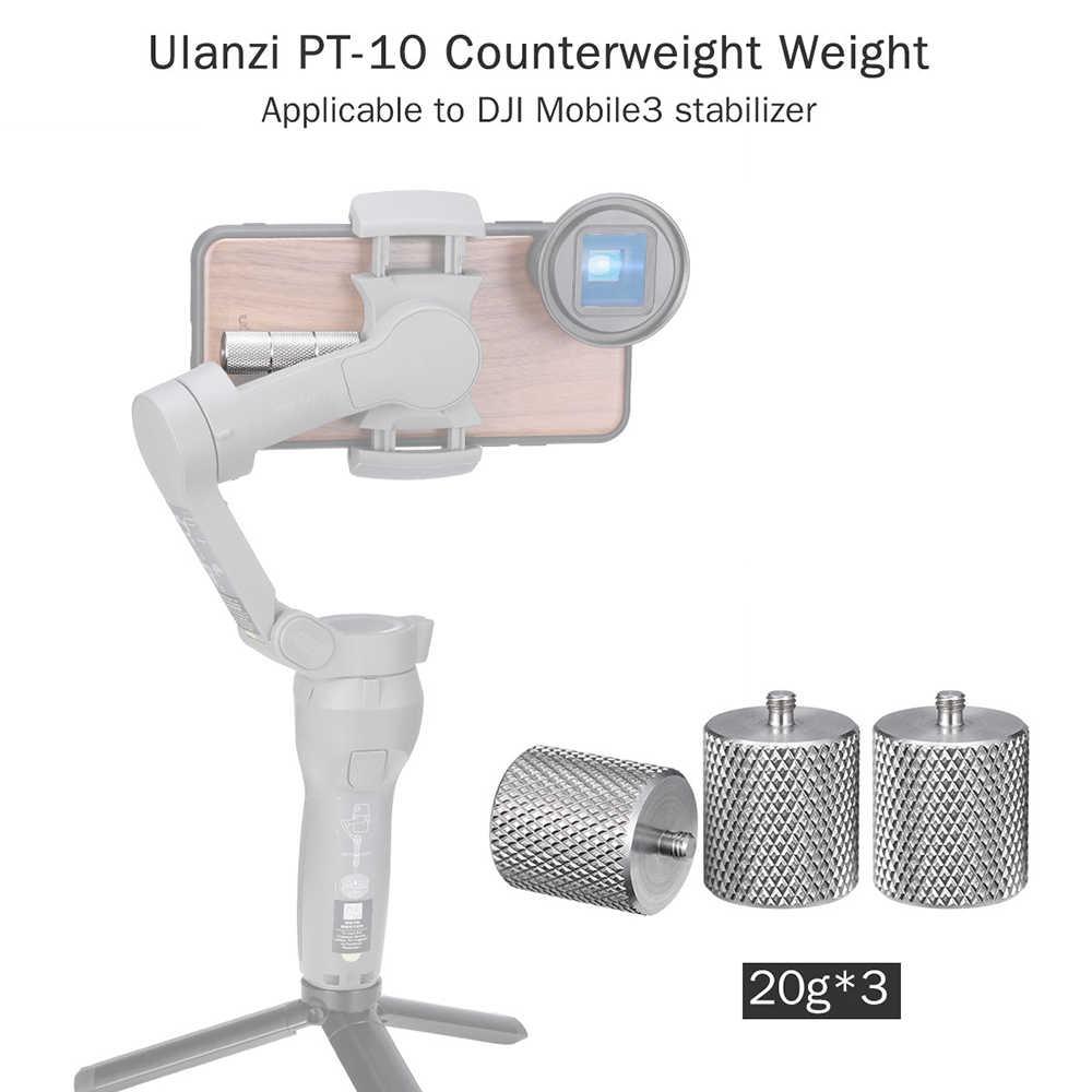 Ulanzi PT-10 Gimbal Counterweight Balance for DJI Osmo Mobile 3 Stabilizer KIts