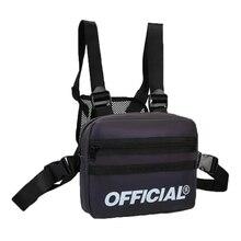 Уличный стиль, светоотражающая нагрудная сумка для мужчин и женщин, многофункциональная нагрудная сумка, поясная сумка в стиле хип-хоп