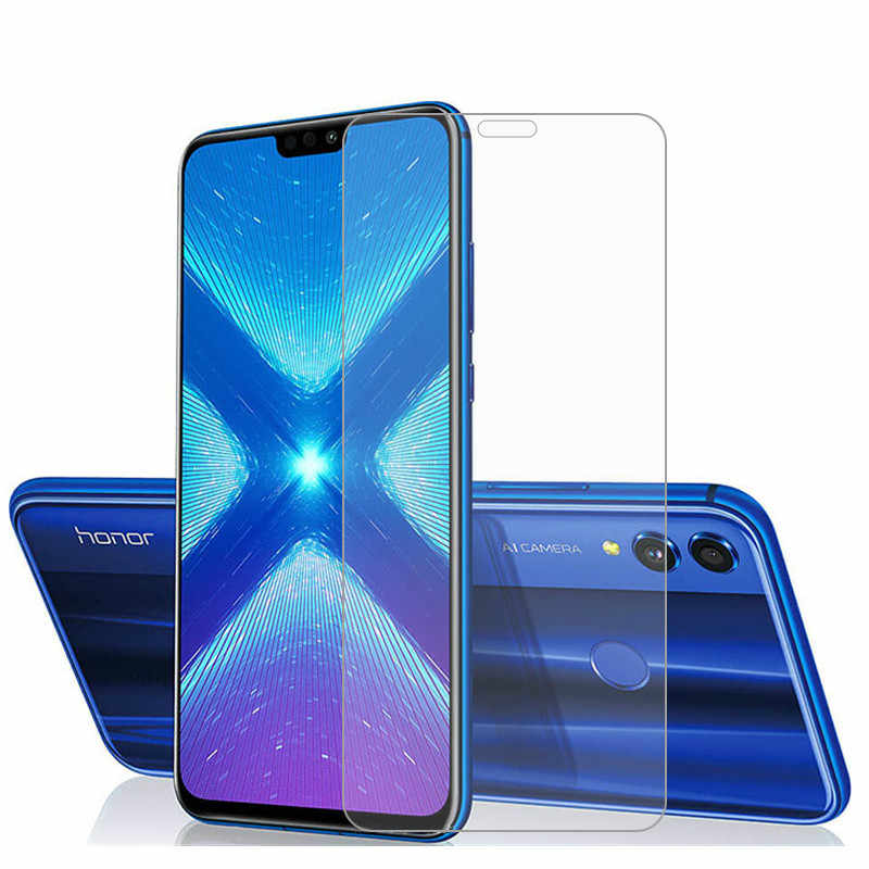 2 uds vidrio para Huawei Honor 8a 8c 8s Protector de pantalla vidrio templado para Huawei Honor 8X vidrio para Honor 8X8 X película protectora