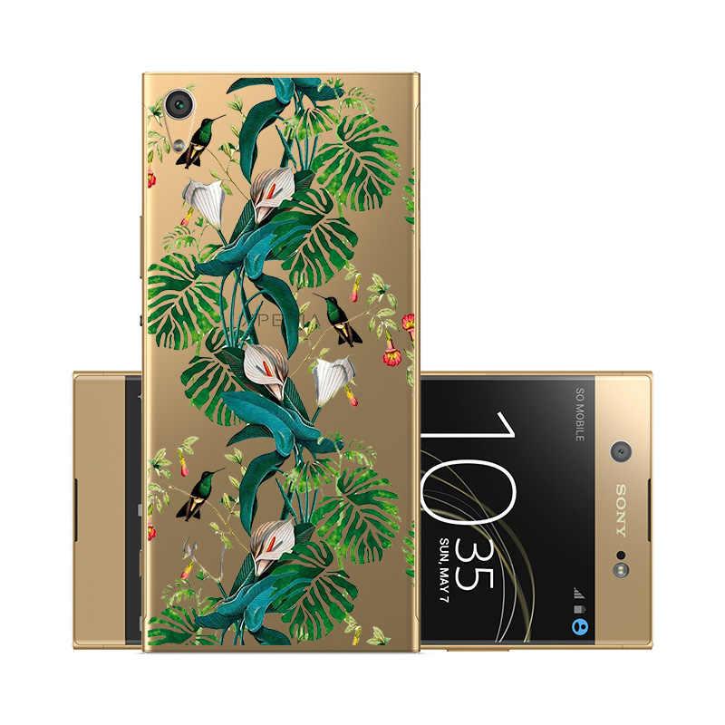 Per Sony Xperia XA2 XA1 Ultra Cassa Del Telefono Molle Del Silicone Della Copertura per Xperia XA1 Più C6 L1 L2 XZ1 XZ2 XZ3 XZ4 Compatto Casse Del Telefono