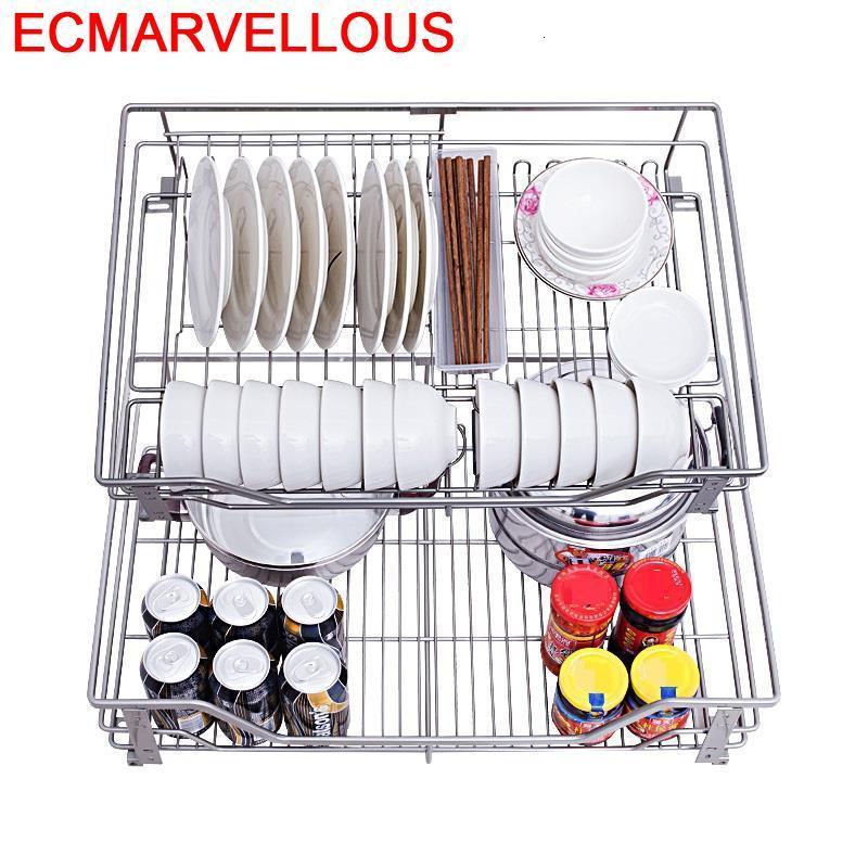 Permalink to For Accesorios Organizar Organisadores Para Armario De Cosina Stainless Steel Cocina Organizer Kitchen Cabinet Storage Basket