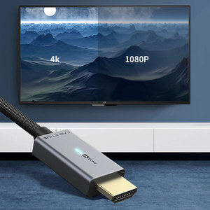 Image 5 - CABLETIME Displayport To HDMI Compatibl Cáp Đèn HDMI Tương Thích 2.0 4K/60Hz Adapter Dành Cho máy Tính Lenovo Dell Macbook Air N356