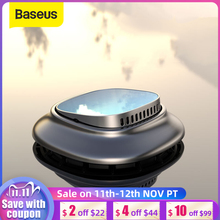 Baseus مصغرة سيارة معطر جو العطر سيارة ناشر رائحة الروائح الصلبة الهواء منفذ لوحة العطور حامل