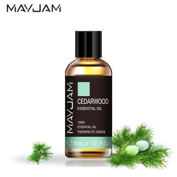 30ml Cedarwood Essential Oil Diffuser Pure Natural Anti-inflammatory Essential Oils Citronella Eucalyptus Cinnamon Geranium Oil недорого