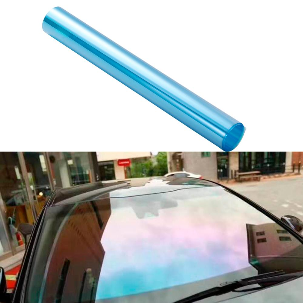 0.5M*3M Windshield Solar Protection Car Sticker Foils PET Tinted Sticker Heat Control Residential Window Film