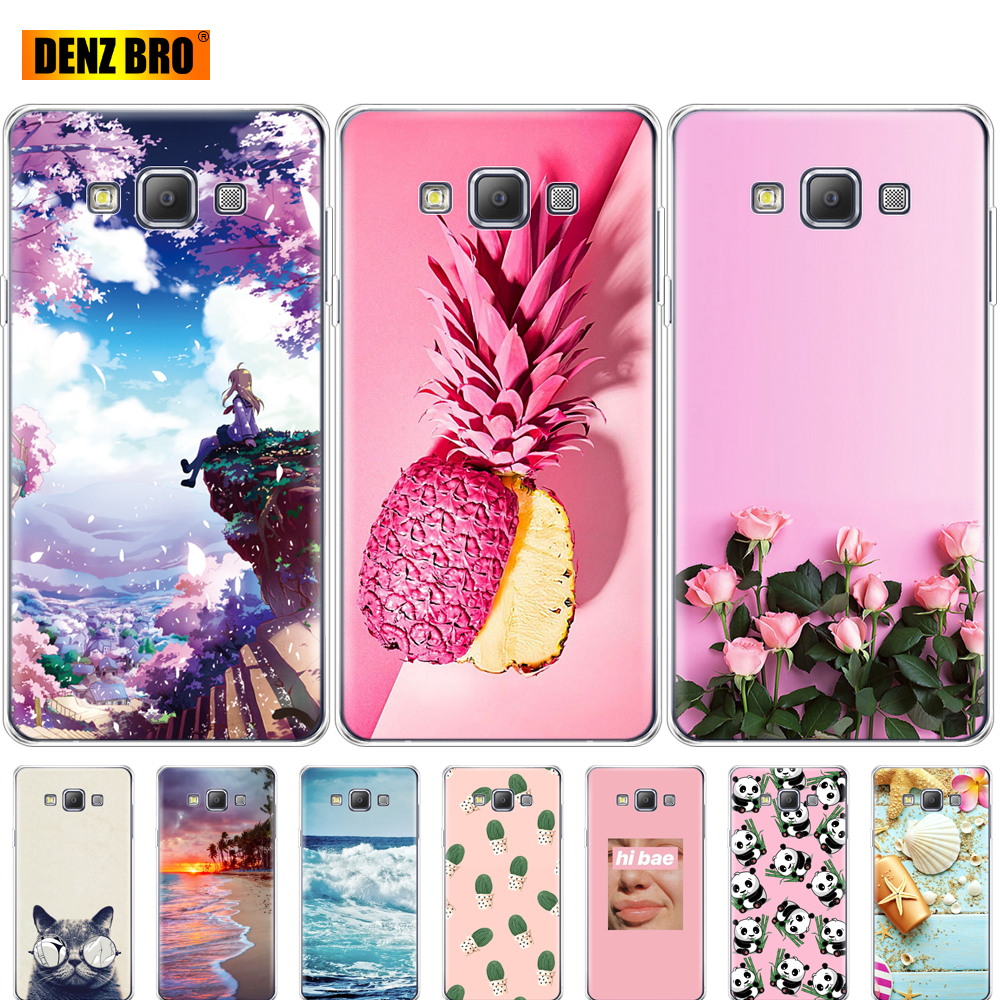 For Samsung Galaxy A3 2015 A300 A300F Case Soft TPU Silicon Back Phone Cover for Samsung A3 2015 A300 protective Coque bumper image