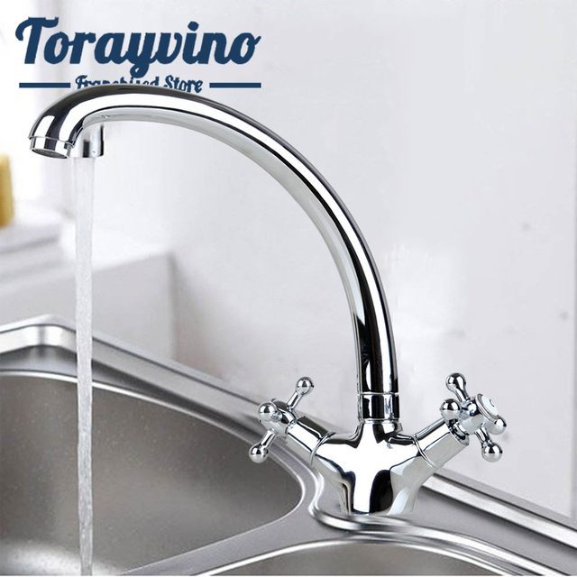 Torayvino RU robinet mitigeur chromé rotatif