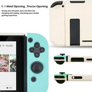 Image 2 - Nintend Công Tắc Ốp Lưng Động Vật Vượt Qua Vỏ Cứng PC Bao Vỏ Joy Con Bộ Điều Khiển Full Nhà Ở Cho Nintendo Switch Phụ Kiện