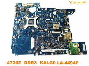 Image 2 - Original for ACER 4736  4736G laptop motherboard  4736Z  DDR3  KALG0  LA 4494P tested good free shipping