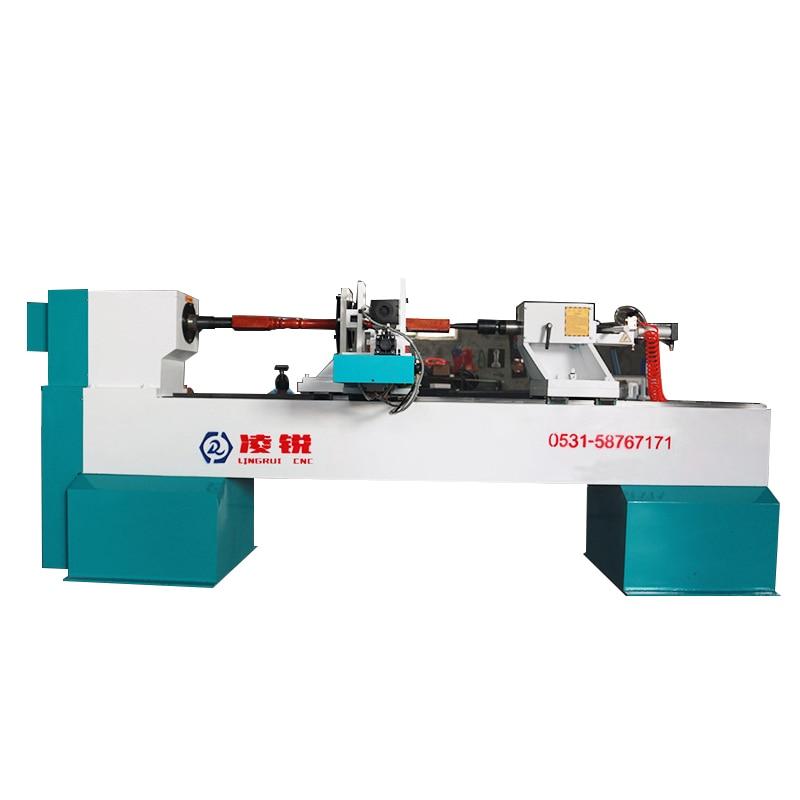 LR-1530 Automatic CNC Lathe stair Railing Roman Column 5500W Woodworking Sofa Leg Table 380V