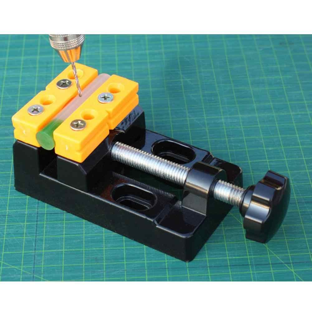 Abrazadera multiusos para mesa de carpintería, tornillo de banco de mesa, Mini abrazadera de Banco de mandíbula, accesorios multifuncionales para máquinas y herramientas