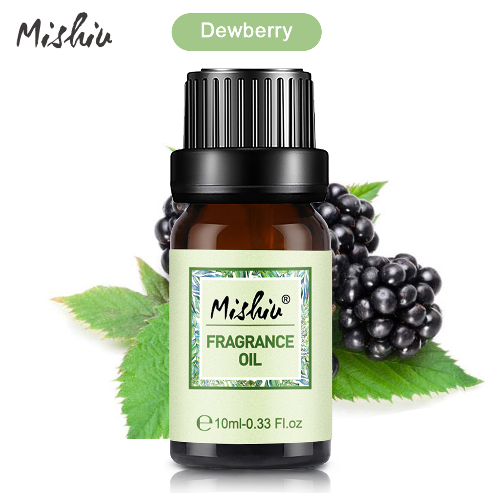Mishiu Dewberry Fragrance Oil Water-soluble Flower Fruit Relieve Stress for Humidifier Oil Aroma Humidifier Aromatherapy10ML