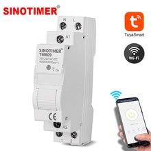 Minuterie intelligente WiFi sans fil, commande à distance via l'application Tuya Mobile, interrupteur de compte à rebours, lumière d'escalier domestique 220V 110V AC
