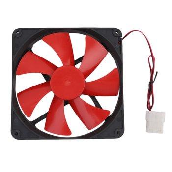 Ventilador de enfriamiento de ordenador PC Universal de 140MM, Popular uso duradero, ventilador de refrigeración para caja de ordenador PC