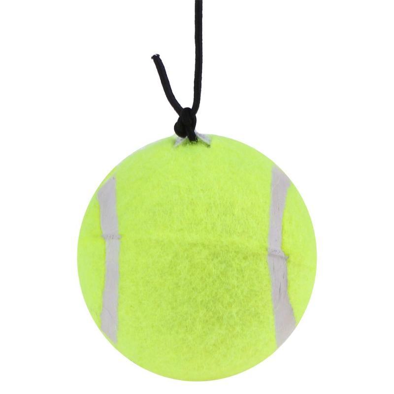 High Elasticity Self-Study Woolen Training Tennis Ball W/ Detachable String