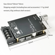 HIFI беспроводной Bluetooth 5,0 TPA3116 цифровой усилитель мощности аудио Плата TPA3116D2 50WX2 стерео усилитель Amplificador домашний кинотеатр