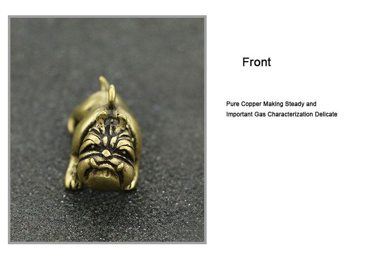Brass French Bulldog Key Chains  (15)