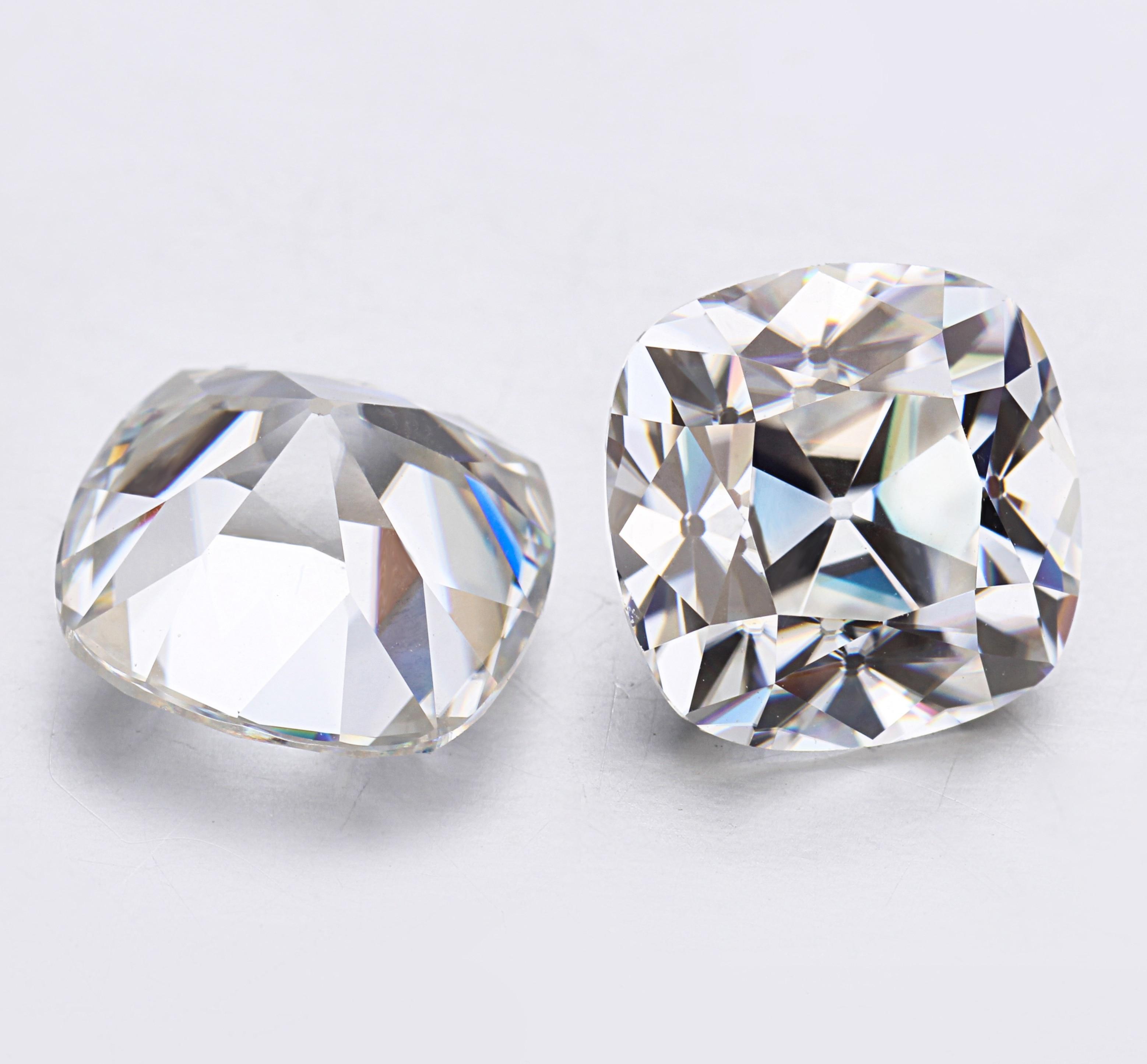 STARSGEM mode OMC 6.5*6.5mm EF test positif moissanite de haute qualité pour le marquage de bijoux