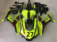 New ABS Injection mold Fairing kit 100% fit for YAMAHA YZF R1 2015 2016 YZF R1 15 16 YZF1000 Fluorescent green + seat cowling