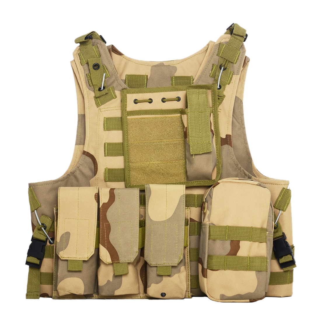 Security Oxford Airsoft Waregame Paintball Equipment Outdoor Tactical Waistcoat Combat Molle Military Multi Pockets Hunting Vest