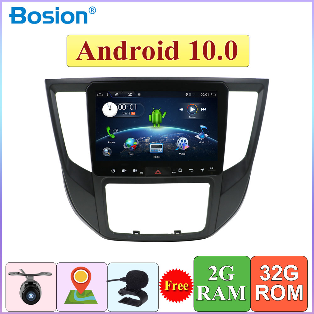 9inch Car Radio Multimedia Video Player Navigation GPS Android 10.0 For Mitsubishi L200 2007-2019 Car Play Mirror Link SWC
