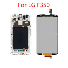 1Pcs Top quality New For LG Optimus G Pro 2 F350 D837 D838 5.9'' LCD Display Touch Screen Digitizer Assembly   No/with Frame 100% good working new replacement lcd display screen for lg optimus g pro e980 e985 f240 free shipping