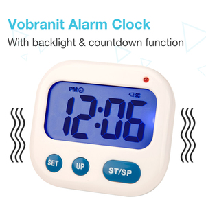 Vibration Alarm clock Luminova