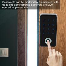 Fechadura цифровой замок по отпечатку пальца бесключевая умный дверной замок с паролем и отпечатков пальцев идеально подходит для защиты вам ...